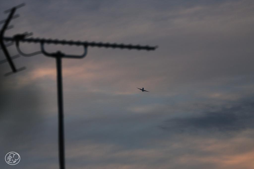 羽田空港着陸ルート -2
