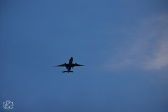 羽田空港着陸ルート -9
