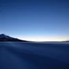 雪原の夜明け