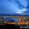 青色の港町