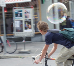 バブルの男