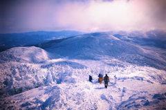 北横岳冬景色
