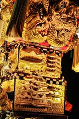 豪華、金糸飾り