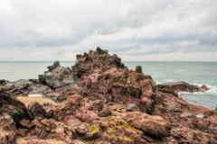 岩に浮かぶ十六羅漢
