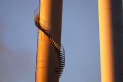 高所の螺旋