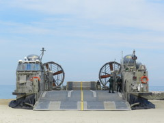 LCAC 海上自衛隊ホバークラフト再び