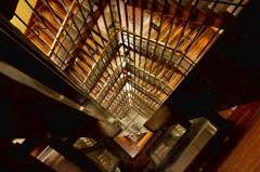 名古屋城内螺旋階段