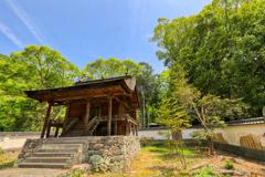 国宝の本殿・神谷神社