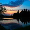 東福寺野の夕景 2