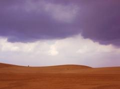 鳥取砂丘のふたり