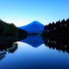 田貫湖富士朝景