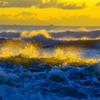 冬の海 大洗海岸、