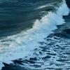 さざ波の朝、