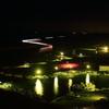 夜明けの漁港,