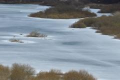 一人旅 湖畔の冬、