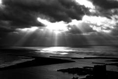 飯岡漁港 夕景