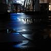 雨上がりの青色