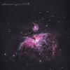 191126 M42 オリオン大星雲(札幌市内)