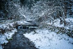 貴船の雪景色 Ⅱ