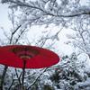 『お休み処の雪景色』