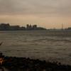 淡水河の夕景