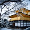 『雪の花咲く金閣寺』