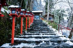 雪の貴船神社 Ⅲ