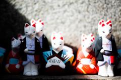 『縁結びの白狐たち』