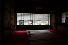 雲龍院・色紙の窓