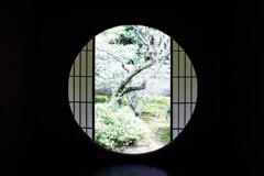 悟りの間の悟りの窓