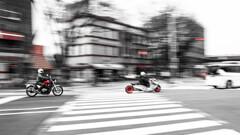 横浜を駆けるRed