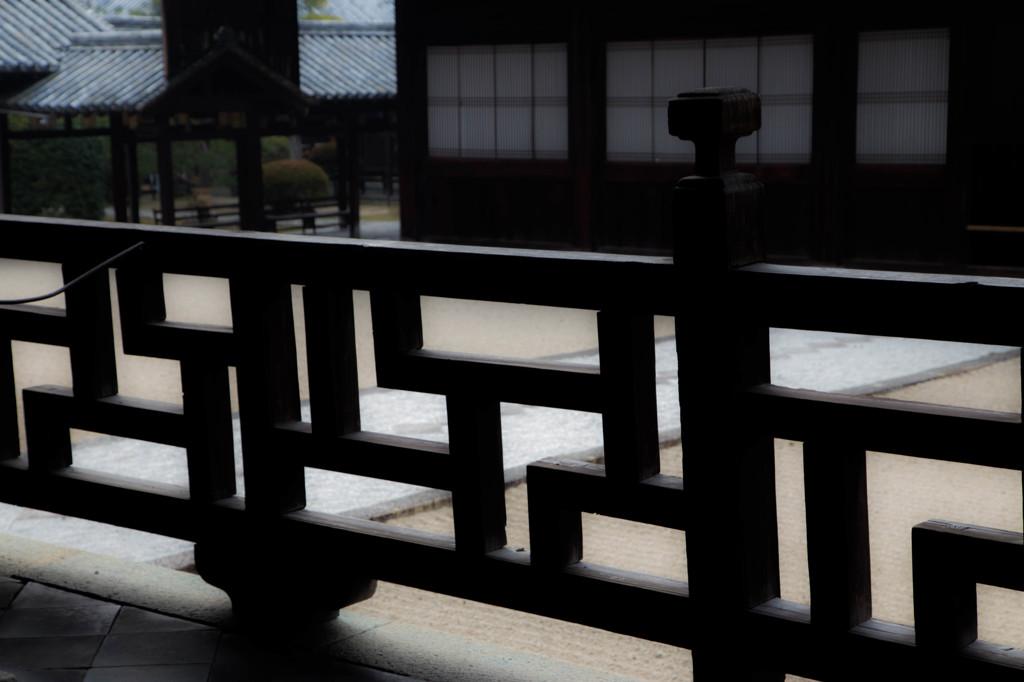 萬福寺法堂の勾欄