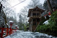 雪の貴船神社 Ⅴ