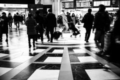 東京駅往来