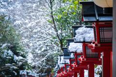 雪の貴船神社 Ⅳ