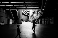 Tokyo International Forum -Black & White