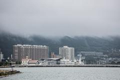 釣り日和?の琵琶湖畔で