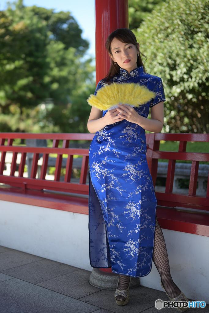 中国庭園のべっぴんさん7
