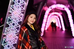 光のトンネル