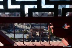 五重塔五層からの眺め