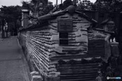 のし瓦積みの築地塀