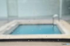 雨天中止(プール)