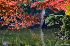鶴の噴水2