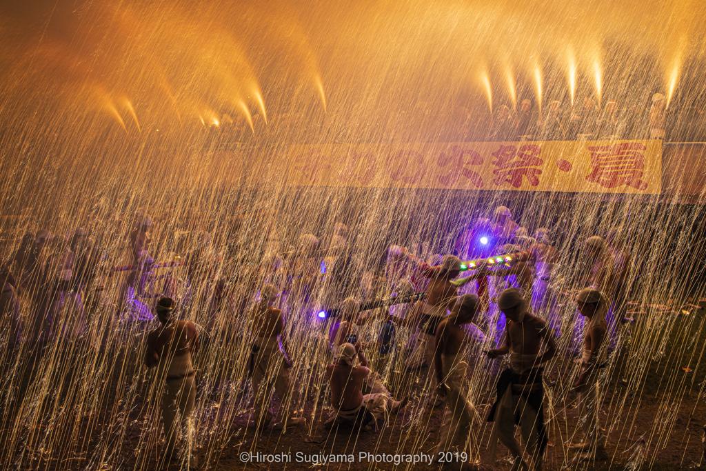 手力火祭り・夏2019