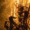 鳥羽神明社火祭り