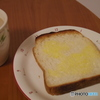 カフェオレとトースト