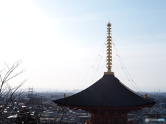 中山寺から見た風景