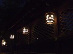 大阪天満宮の灯り