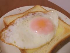 ハムエッグチーズトースト