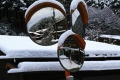 雪オブジェ*ミラー*